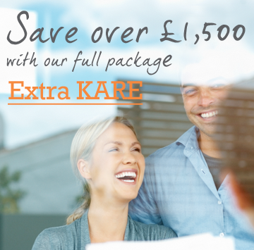 Save when you sign up to extra kare financial business advice package